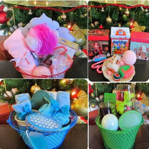 Homemade Christmas Gifts for Family - Spa Treatments - Click pic for 25 DIY Gift Baskets Ideas