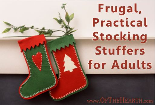 Frugal Practical Stocking Stuffers For Adults Stockings