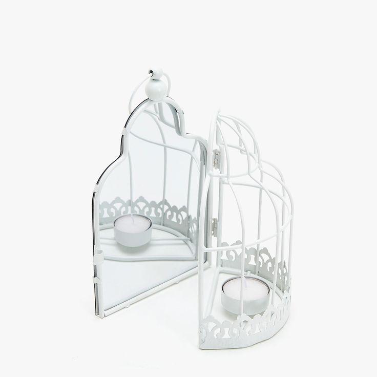 Imagem 2 de produto Porta-velas gaiola e espelho