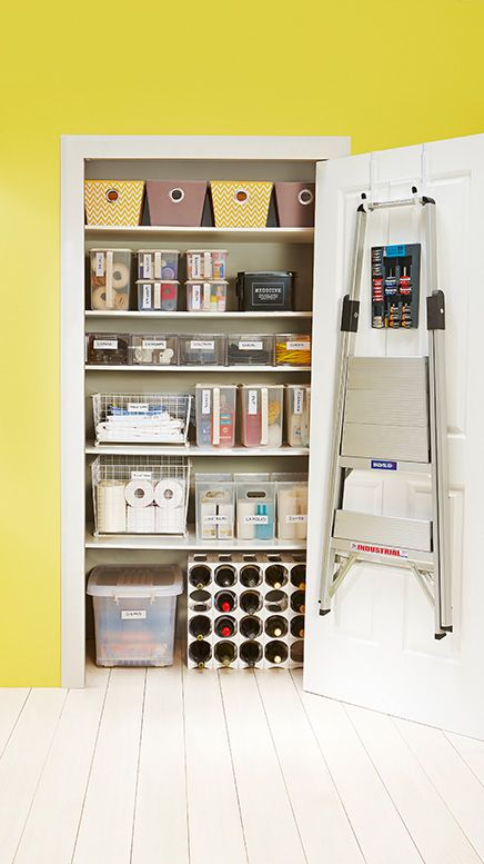 From Vases to your vacuum cleaner, every home needs an organised place to store essential odds and ends. Available from Howards Storage World.