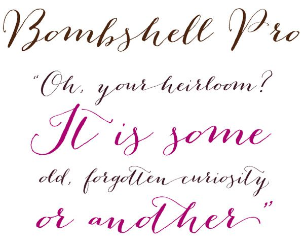 Popular Fonts For Wedding Invitations: Friday DIY Roundup: My 10 Favorite Wedding Fonts