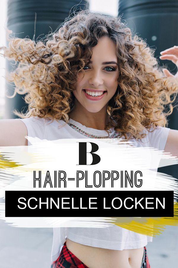 Hair-Plopping: DER Trend für schnelle Locken – ganz ohne Hitze
