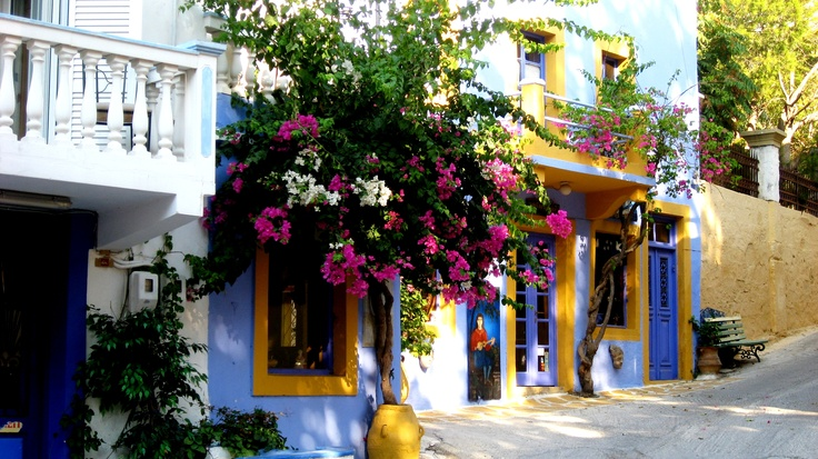 A good mood house - Leros Island (Greece)
