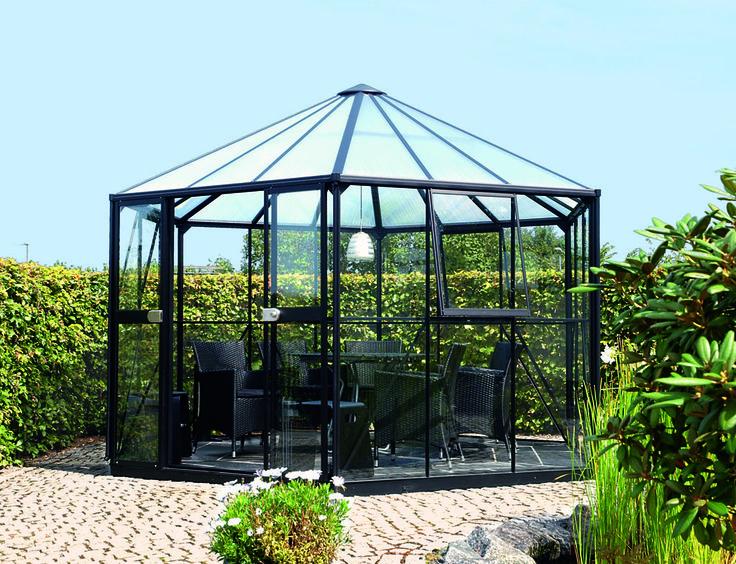 31 besten glaspavillons rund bilder auf pinterest. Black Bedroom Furniture Sets. Home Design Ideas