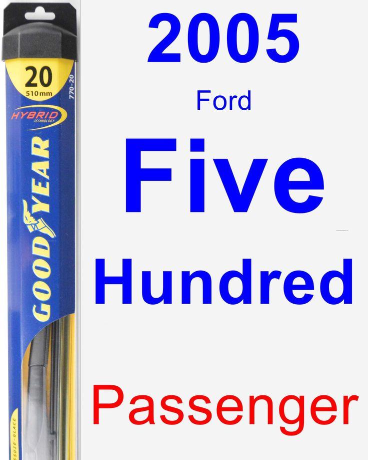 Passenger Wiper Blade for 2005 Ford Five Hundred - Hybrid