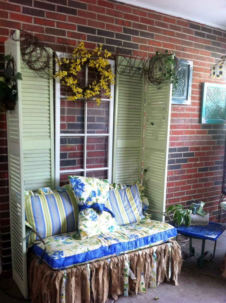 Trash To Treasure Patio Furniture Repurposed Furniture