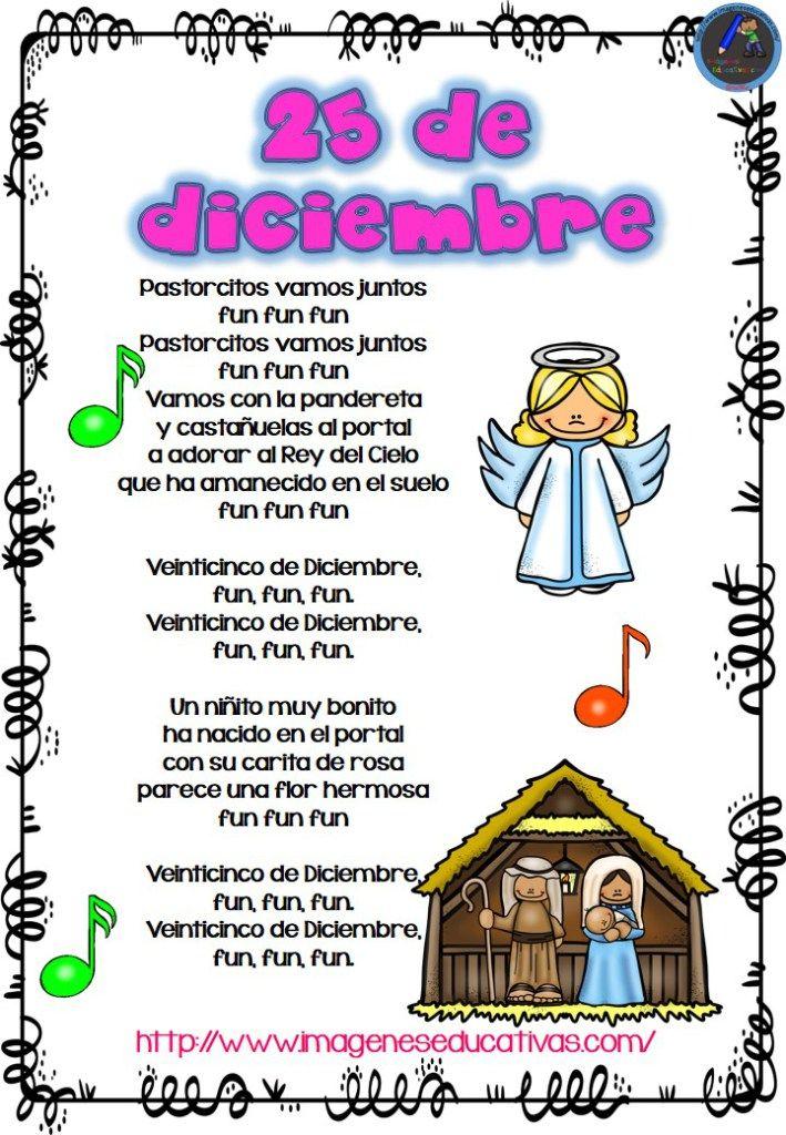 Cuaderno De Villancicos Para Navidad Cancion De Navidad Villancicos Navideños Para Niños Villancicos Navideños