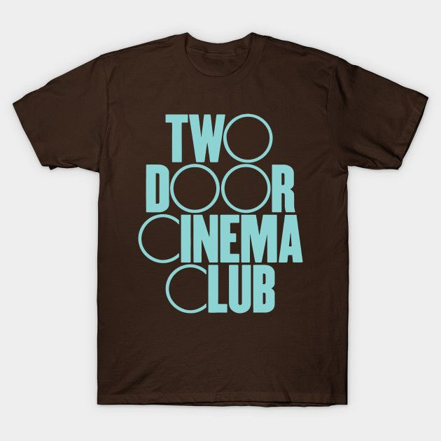 Two Door CInema Club - Logo two door cinema club, alex trimble, sam halliday, kevin baird, indie rock, indie pop, dance punk, post punk revival, music, band, festival, two door, cinema club, irish indie, rock band, bangor, donaghadee, sleep alone, something good can work, undercover martyn, what you know, i can talk, come back home, sun