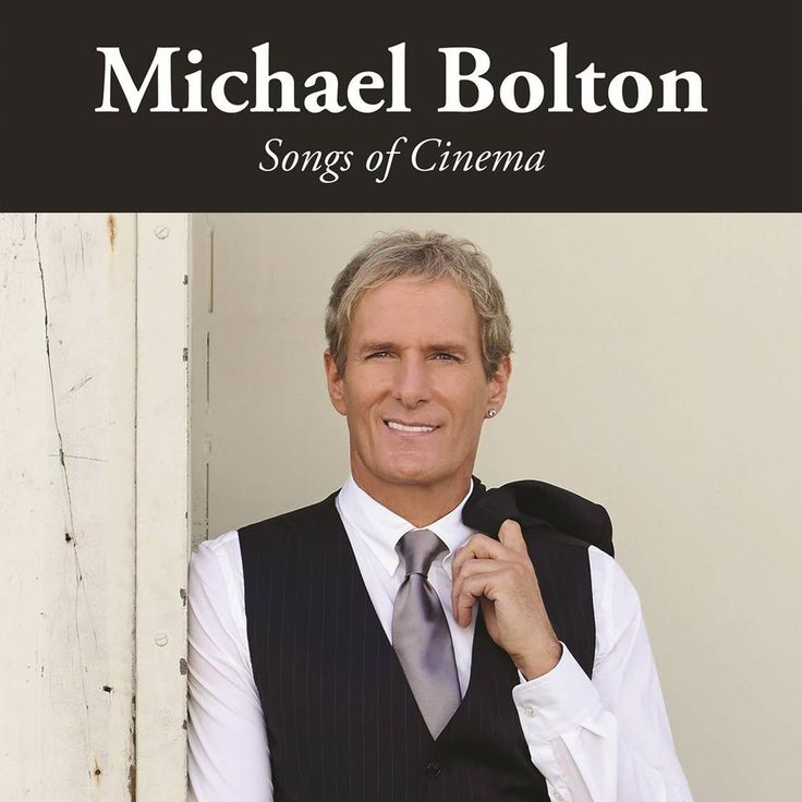 Michael Bolton Announces New Album of Movie Song Covers