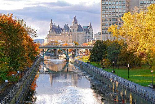 Ottawa Canal by zen! via Flickr