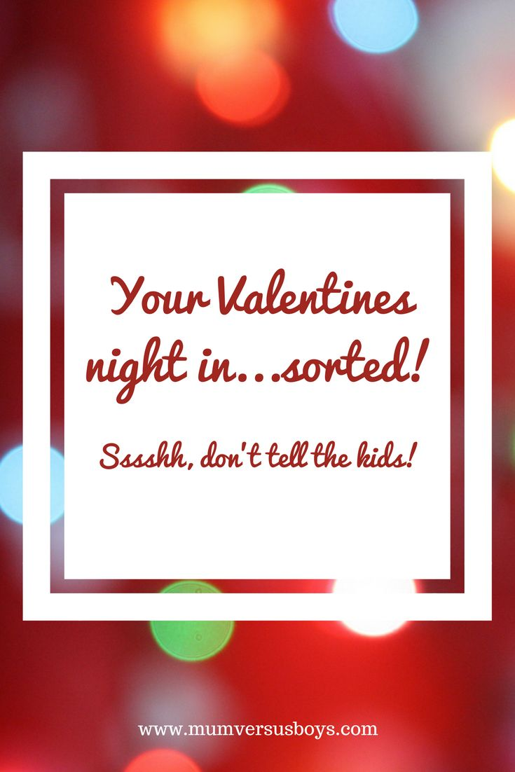 Staying in this Valentines Day? Valentines Day with kids brings its own challenges but we'll be embracing the madness in this house! We're planning a Valentines night in to remember.