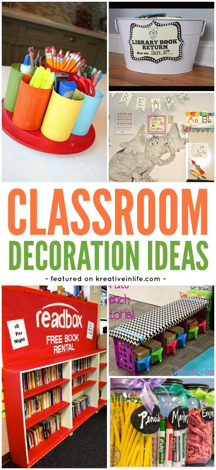Teacher Classroom Decoration Ideas : Best classroom ideas images on pinterest