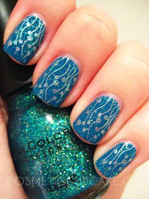 coolBlaze Blue, Nails Art, Pretty Blue, Nails Design, Bundle Monsters, Monsters Sets, Nails Polish, Monsters Plates, Under Sea