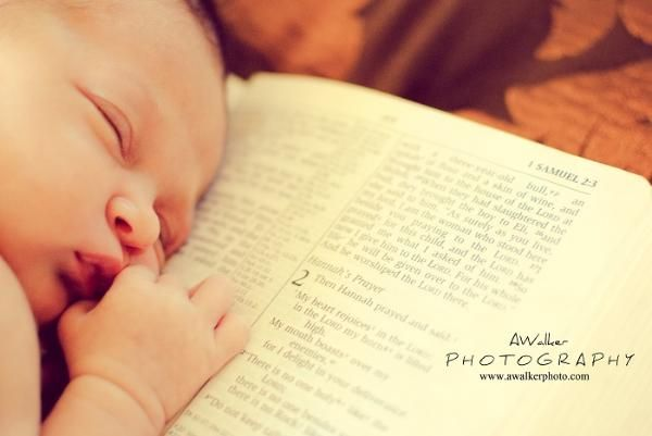 "Newborn cute photography photo idea / pose on a Christian bible verse: 1 Samuel 1: 27-28: ""For this child I prayed."" Houston boy / girl newborn photography."