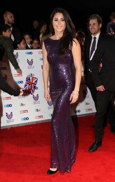 Sam Quek attends the Pride Of Britain awards at the Grosvenor House Hotel on October 31, 2016 in London, England.