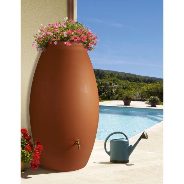 r cup rateur d 39 eau bellijardin terracotta en jarre 500 l r cup rateur d 39 eau pinterest. Black Bedroom Furniture Sets. Home Design Ideas