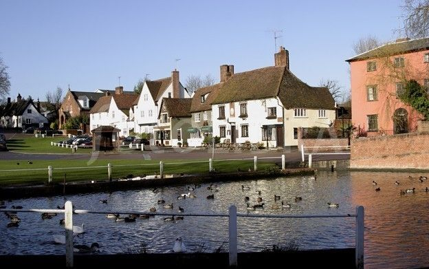 Finchingfield, Essex, England   my grandfather is from essex england!