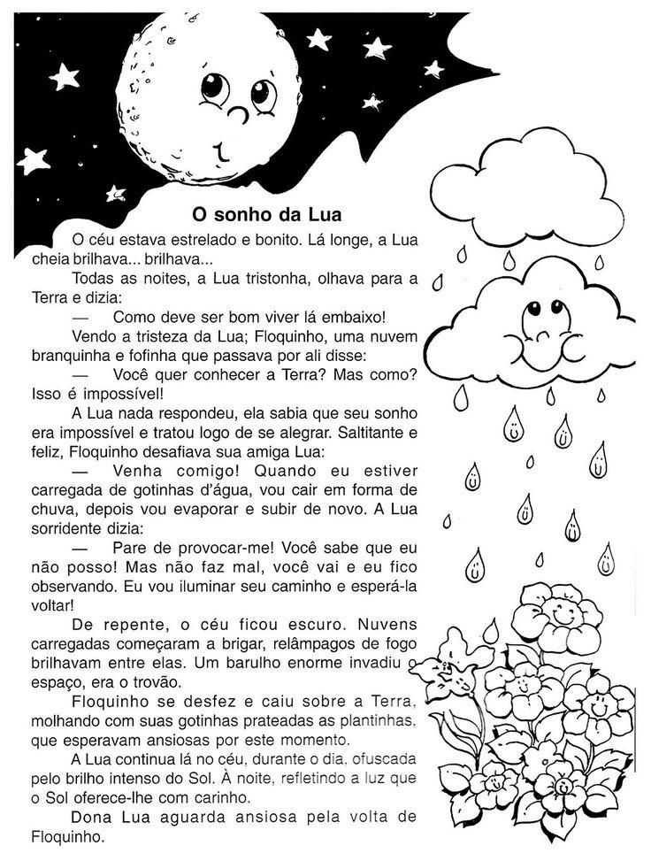 Textos para imprimir - Leituras - SÓ ESCOLA