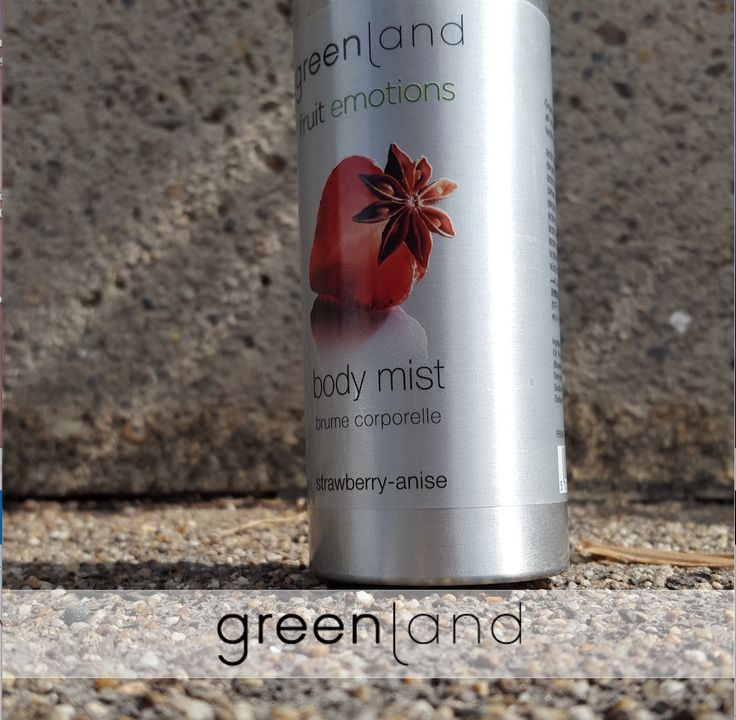 The wonderful fresh fragrances of Greenland bodycare. Available in four wonderful fruit combinations. The body mist is easy to apply and creates a fresh feeling in no time.