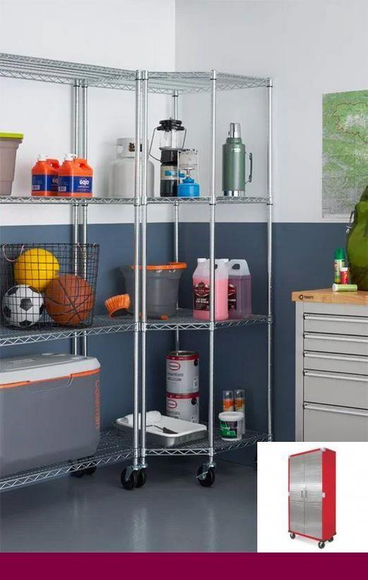Garage Shelf Organization Ideas Garageorganization And