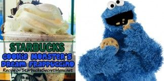 Cookie Monster's Dream Frappuccino | Starbucks Secret Menu