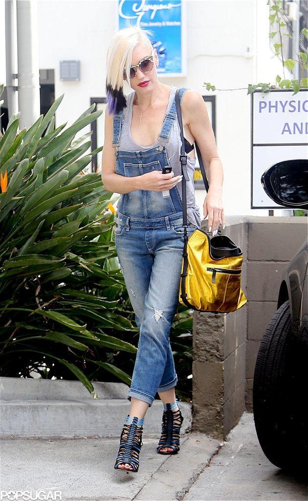 Gwen Stefani Leaving a Nail Salon in LA Pictures | POPSUGAR Celebrity