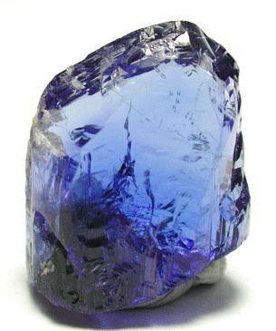タンザナイト Tanzanite (非処理) タンザニア Arusha, Merelani産