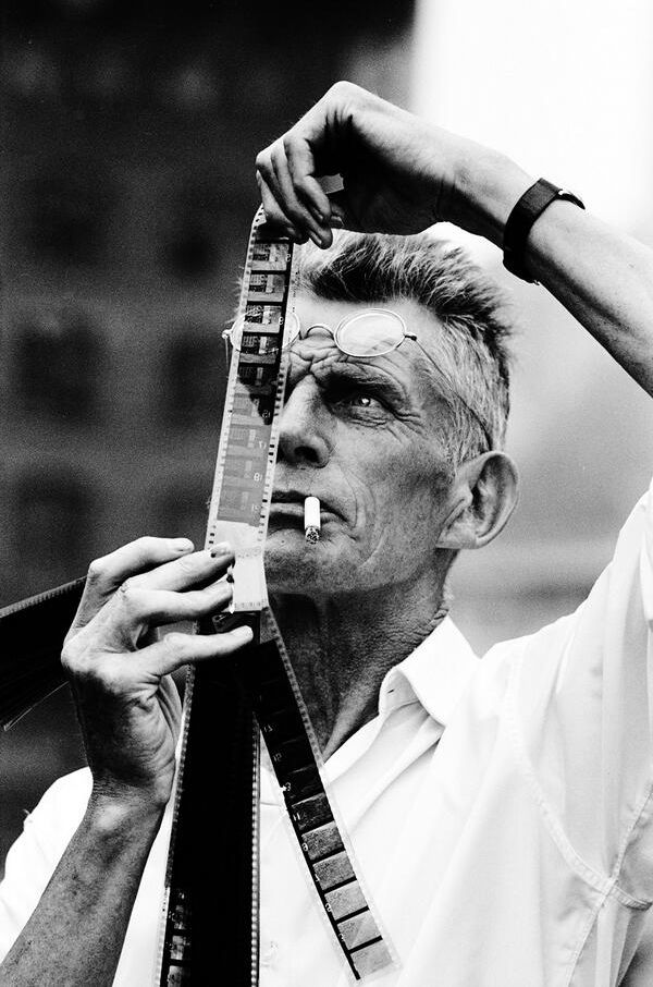 barcarole:  Samuel Beckett in 1964. Photo by Steve Schapiro.