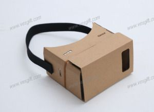 Customized Pirnting Vr Google Cardboard V2 with 37mm Lens on Made-in-China.com