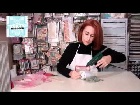 Video Tutorial: How to Make a Top Hat #mixedmedia