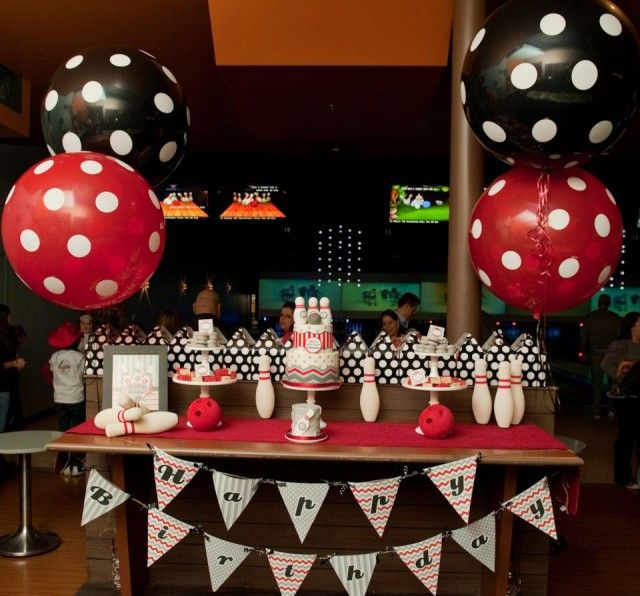 Best bowling party ideas images on pinterest