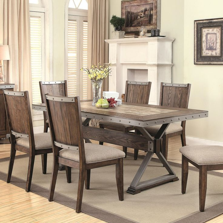 best 20 rustic dining table set ideas on pinterest rustic - Rustic Dining Set