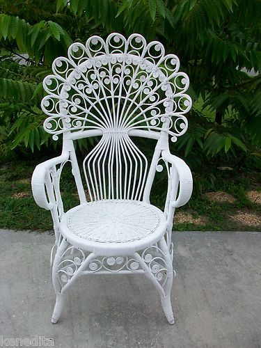 187 Best Images About Victorian Wicker Furniture On