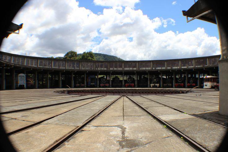 Sala de Máquinas, Museo Ferroviario Temuco. Febrero 2014