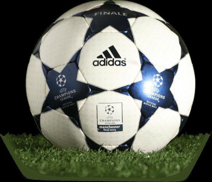 Adidas Finale 2003 Manchester UEFA Champions League final match ball