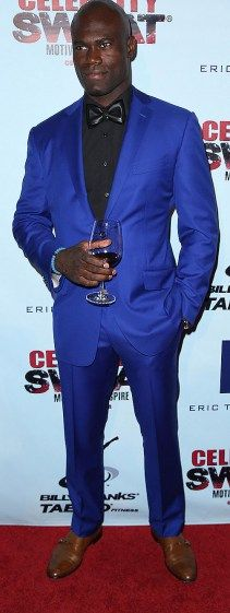 Uriah Hall arrives at the 10th annual Celebrity Sweat ESPY Awards afterparty.