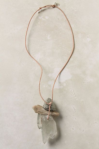 """A day at the beach... in a necklace. How fun to find """"stuff"""" on vacation as danglers- Could have a set of jewelry as reminder of each vacation."""