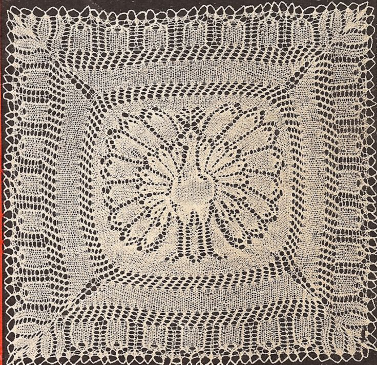 57 best images about Knitting Doilies/Tablecloths on Pinterest Lace, Tablec...