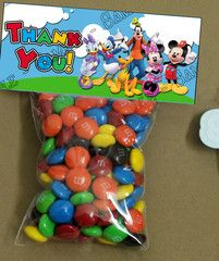 Mickey Mouse Clubhouse Party Favor Labels