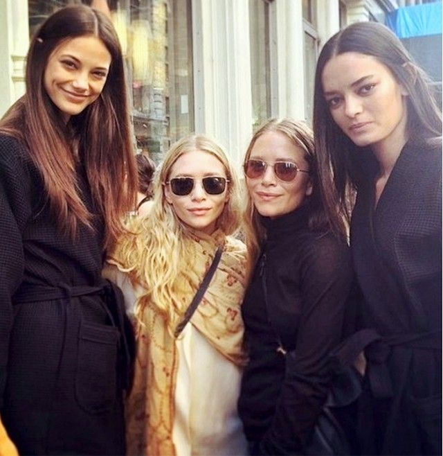 27 Times the Olsen Twins Were Spotted on Instagram via @WhoWhatWear