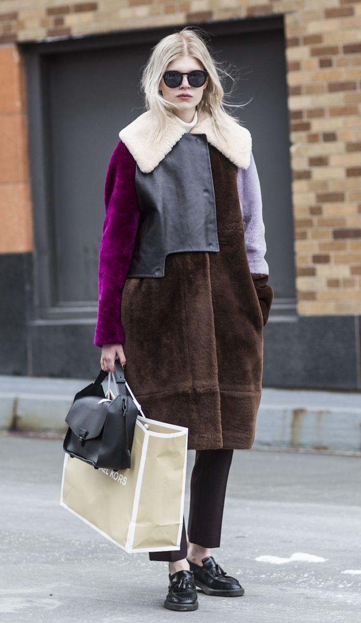rad topper #OlaRudnicka. #offduty in NYC. #lookswedig