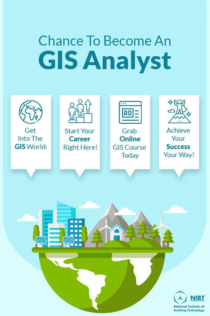 Join #NIBT , get into #GIS World and kick start your GIS