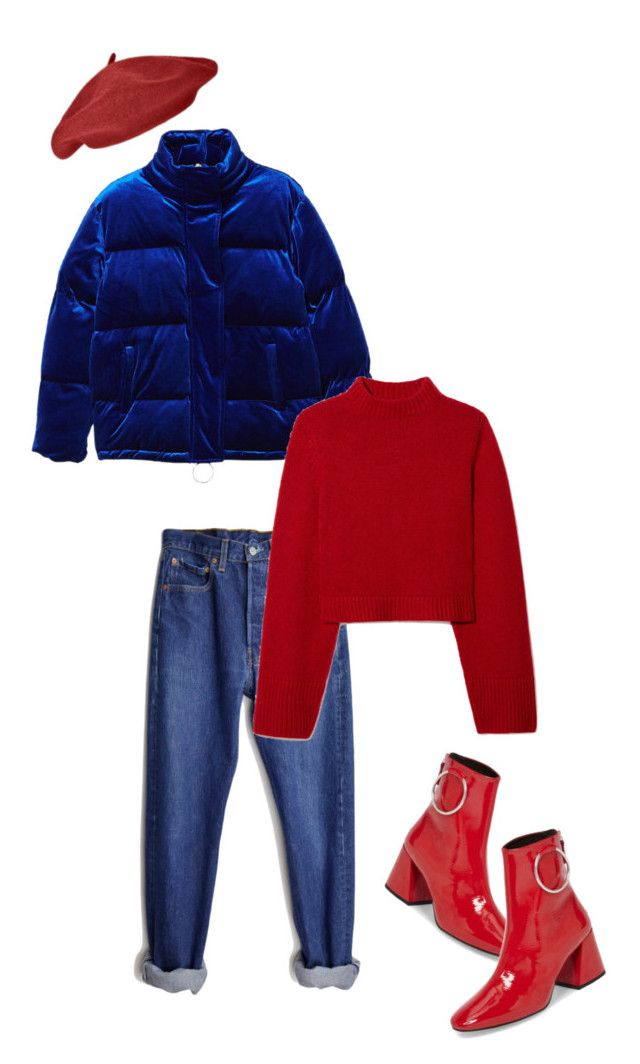 """Untitled #123"" by inteovertgirl ❤ liked on Polyvore featuring MANGO, Levi's, CO and Topshop"