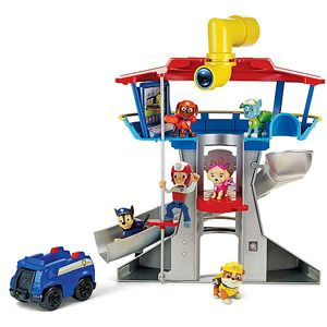Nickelodeon Paw Patrol - Look-Out Playset, Vehicle and Figure Great christmas gift!