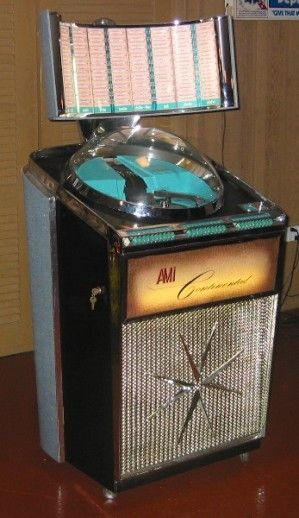 Ami Continental jukebox, 1958.