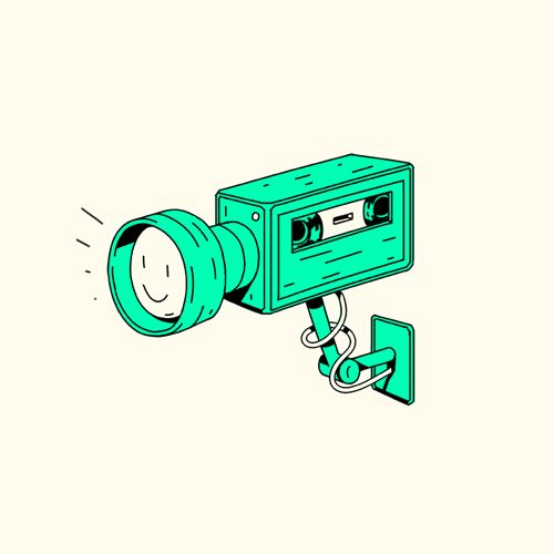 GIF - Benjy Brooke animation & illustration