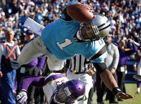 Cam Newton Carolina Panthers   Cam Newton, Andy Dalton lead surprising rookie class