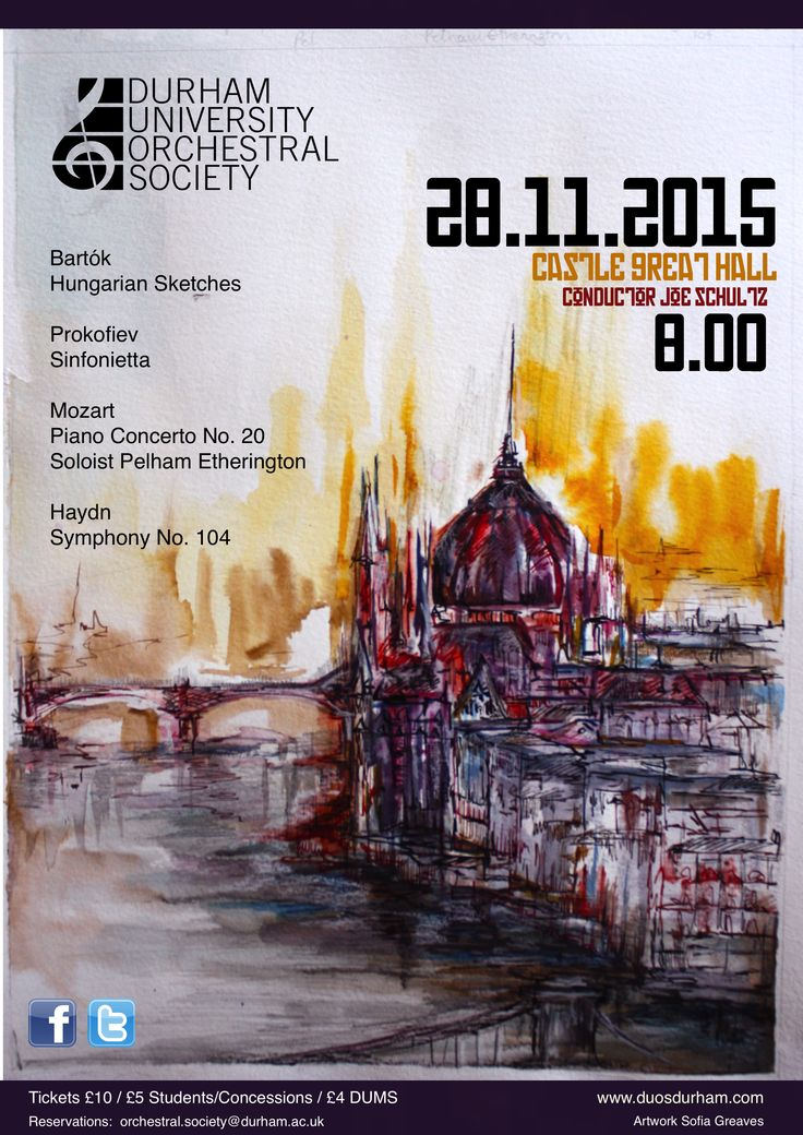 Chamber Orchestra November 2015 Concert Durham University orchestral Society