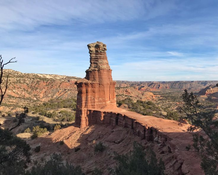 View from the end of The Lighthouse Trail in Palo Duro Canyon. It may have been 18 degrees but this view made it all worth it. #hiking #camping #outdoors #nature #travel #backpacking #adventure #marmot #outdoor #mountains #photography