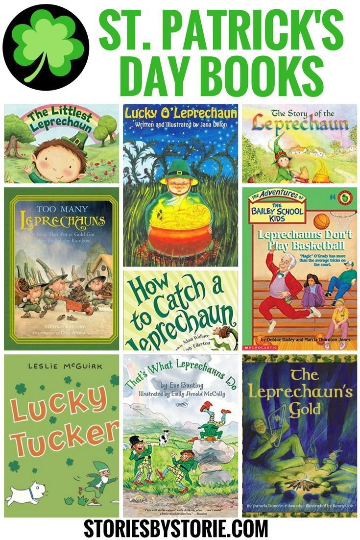 St Patrick S Day Books For Kids Day Book Stories For Kids